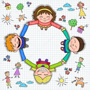 depositphotos_91521080-stock-illustration-circle-of-kids-holding-hands