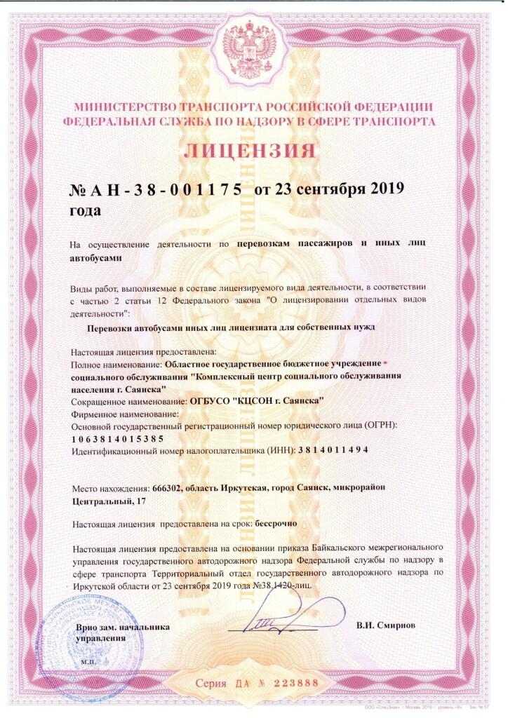 Лицензия на пассажирские перевозки_page-0001