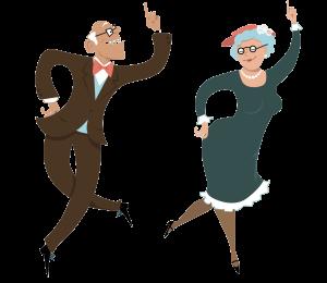 танцы пожилых пнг
